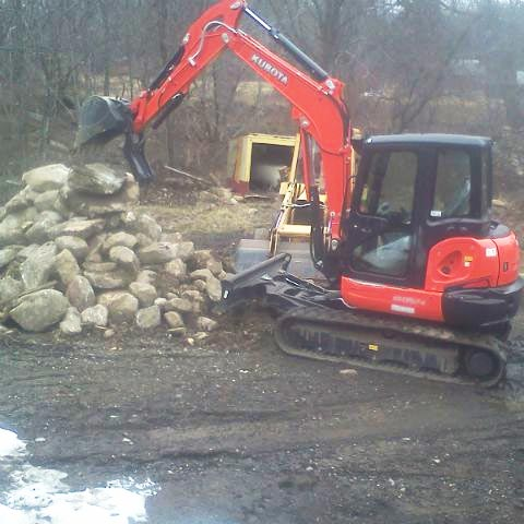 At Stearns Contracting our excavation equipment can handle any job