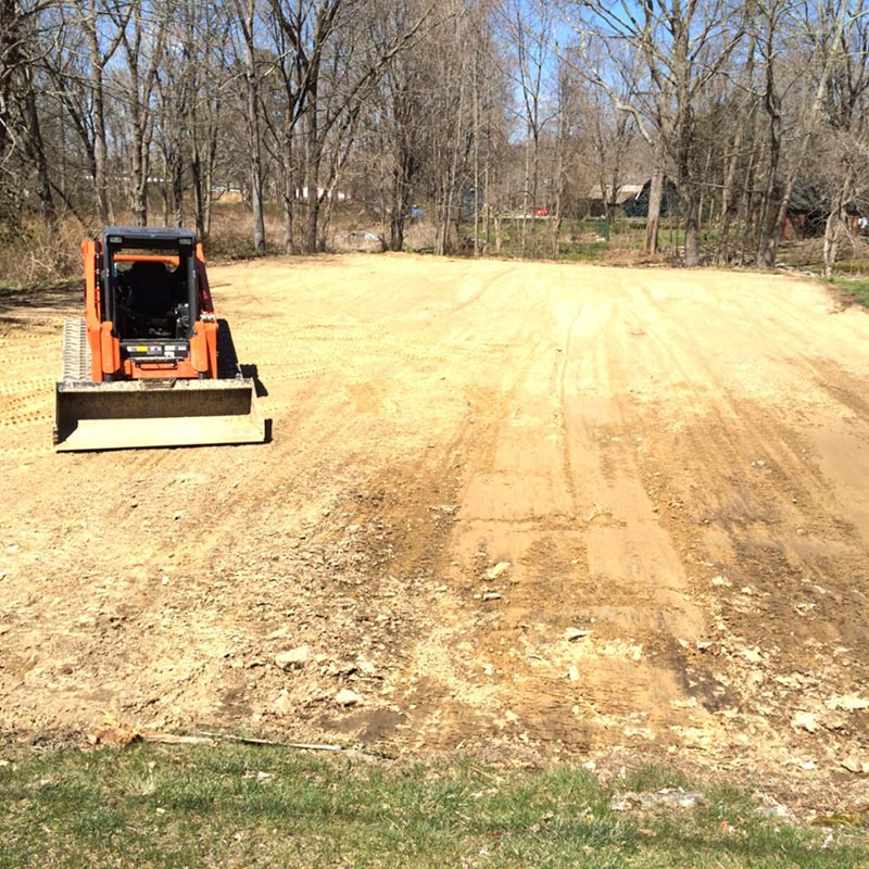 land clearing and excavation contractor tolland county