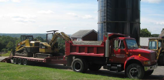 D. Ky;e Stearns Contracting Inc has the equipment that gets the job done!