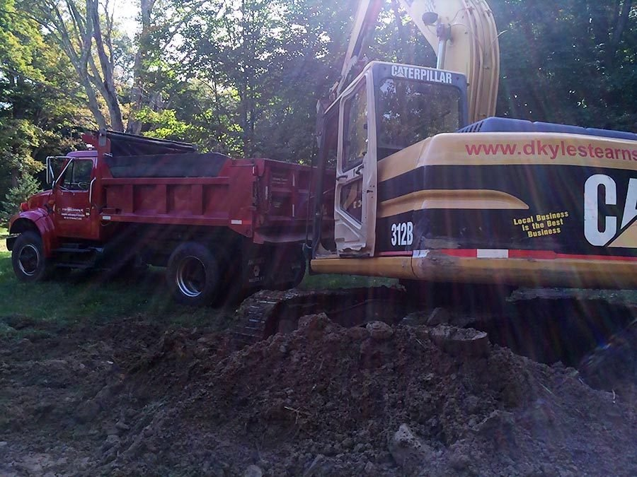 Excavation and Grading Contractor – Willington CT