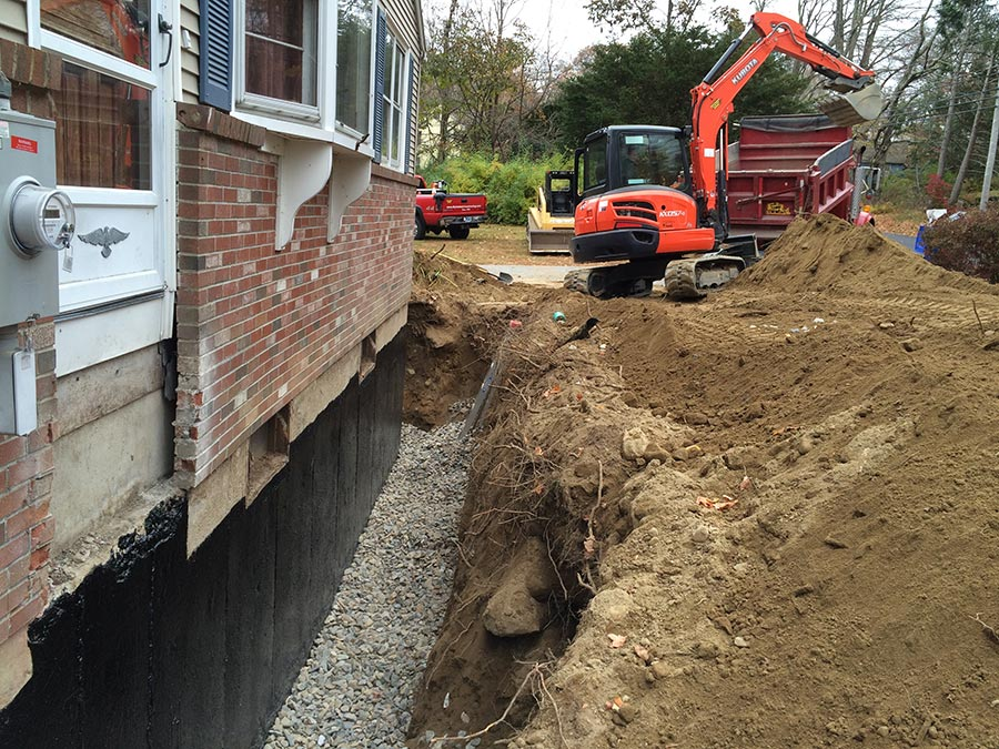 foundation drains
