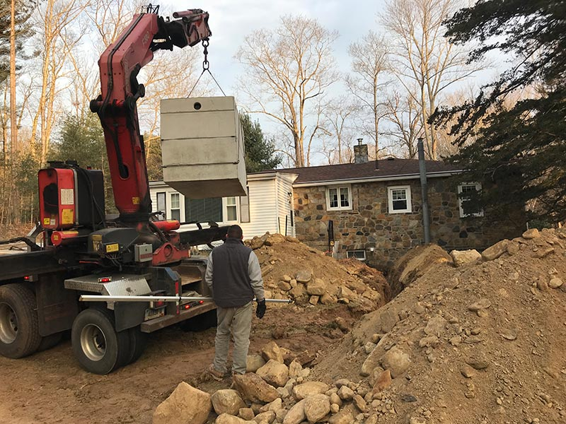 Septic Tank Installation – Stonington CT