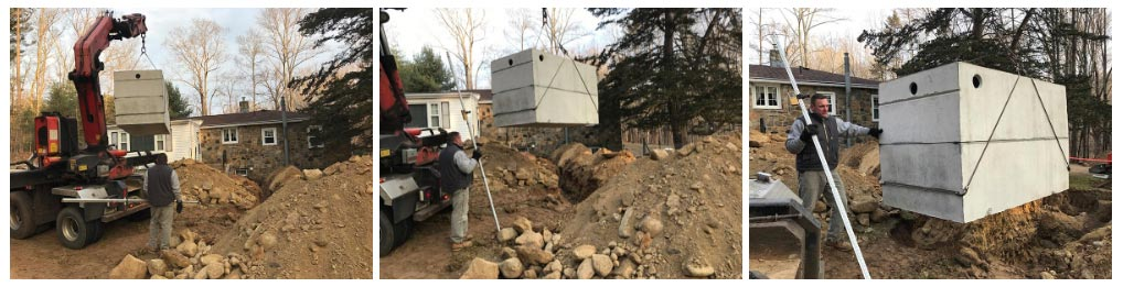 Septic System Installation - Willington CT, Mansfield CT