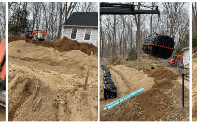 Septic Field and Tank – Andover CT