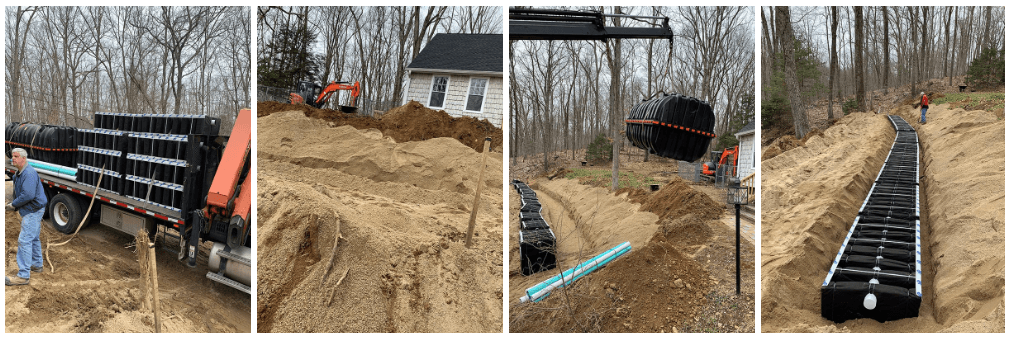 septic field and tank andover ct