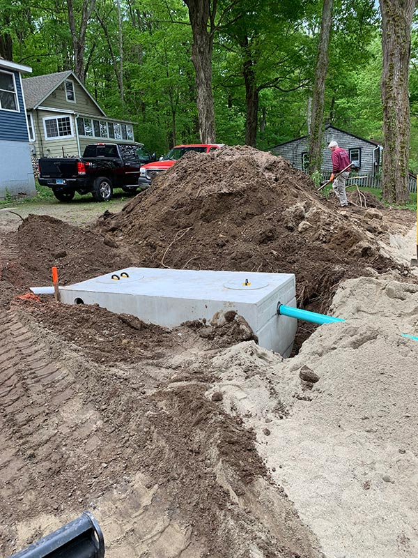 Andover Lake Septic System