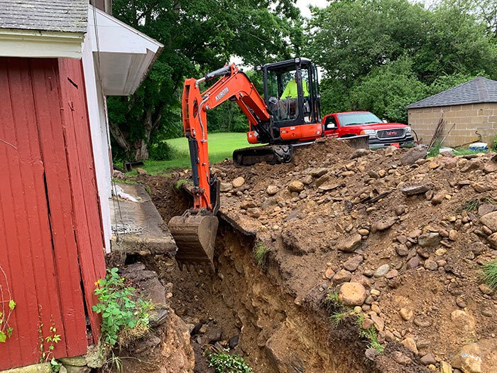 Stop Flooding with Foundation Drains – Tolland County CT