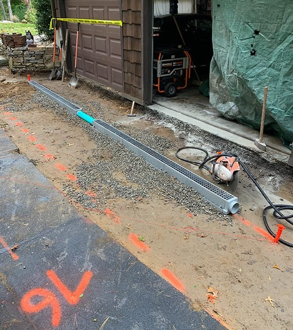driveway drainage contractor