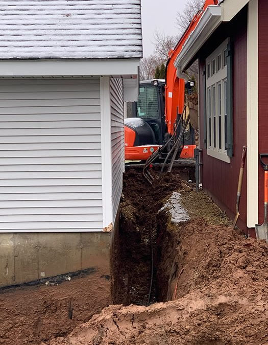 Ellington CT - Foundation Drain